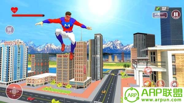 超级英雄飞行模拟器3D
