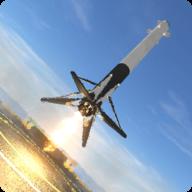 太空火箭第一阶段着陆模拟器