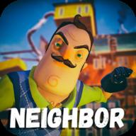 小孩子暴打邻居