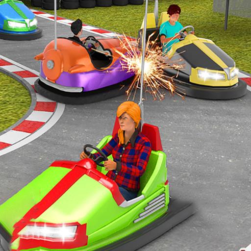 游樂場碰碰車駕駛模擬