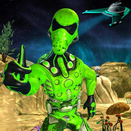 绿区51外星人逃生