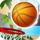 扣籃拍籃球