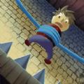 繩子解救小人