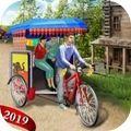 自行车人力车模拟器