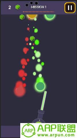 激光引爆球