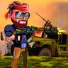 金属打击射击士兵