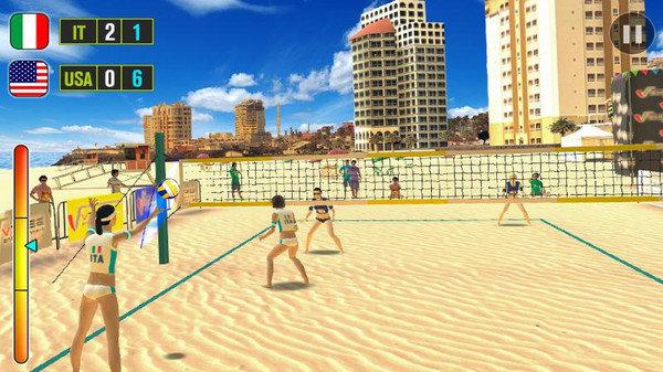 沙滩排球世界冠军游戏