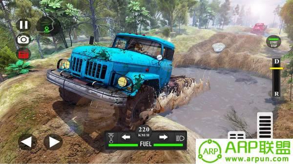 越野泥浆车驾驶模拟