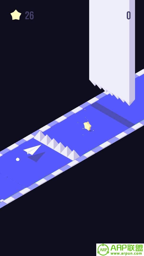 方块纸飞机