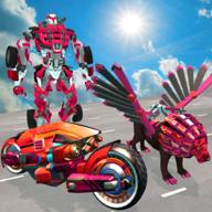 飞狮机器人战斗