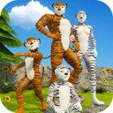 虚拟老虎快乐家庭