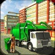 美国垃圾车司机