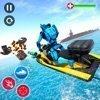 喷气滑雪机器人潜艇战