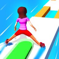 彩色滑行跑酷