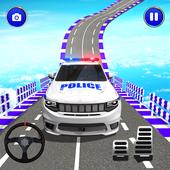 警察怪异吉普车特技