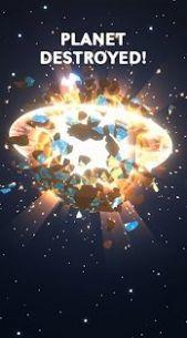 不可阻挡的陨石爆炸