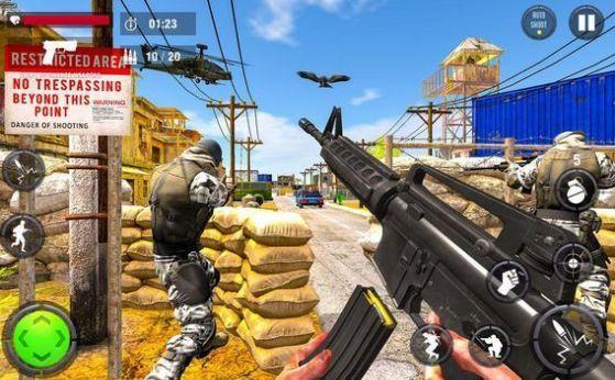 反击枪打击FPS射击
