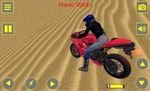 越野摩托车越野车3D