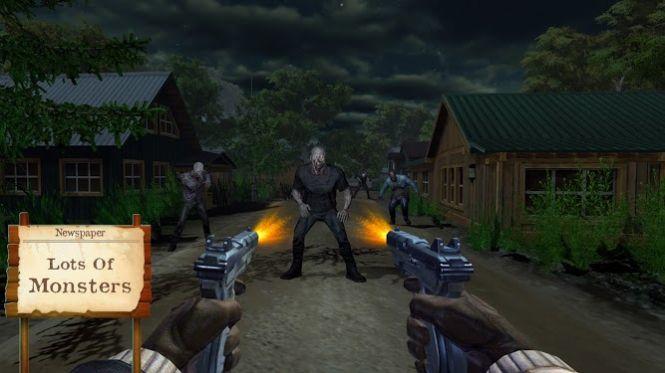 幽灵狩猎模拟器鬼屋森林