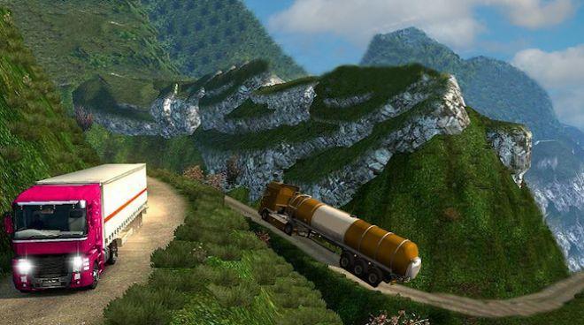 卡车司机卡车驾驶2021