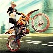特技摩托车骑手