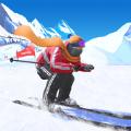 高山滑雪飞跃