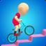 人类疯狂自行车竞速