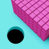 彩色与黑洞3D