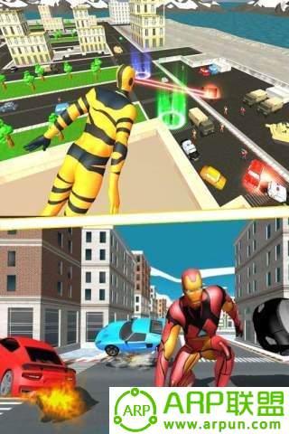 超能飞行队战地模拟器