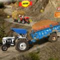 拖拉机手推车货物养殖模拟