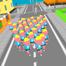 人群跑步3D
