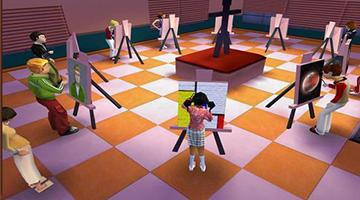模拟开学校的游戏