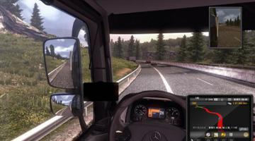 模拟开卡车游戏