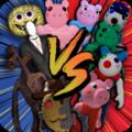 女妖头vs小猪恐怖大战