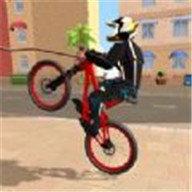 山地自行车特技