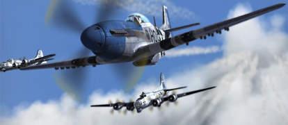 飞机空战游戏