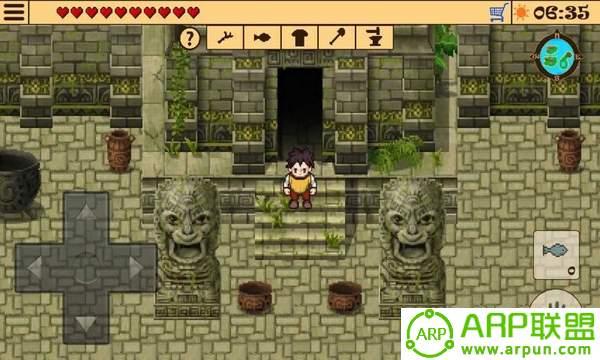 神庙废墟探险