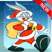 卡通兔子短跑