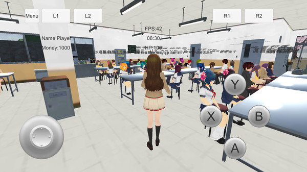 女子学校模拟器
