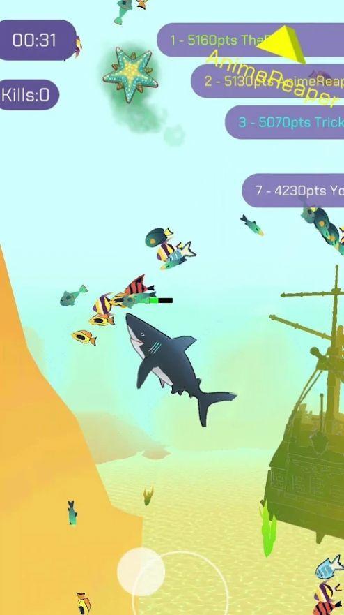 鲨鱼狩猎大作战