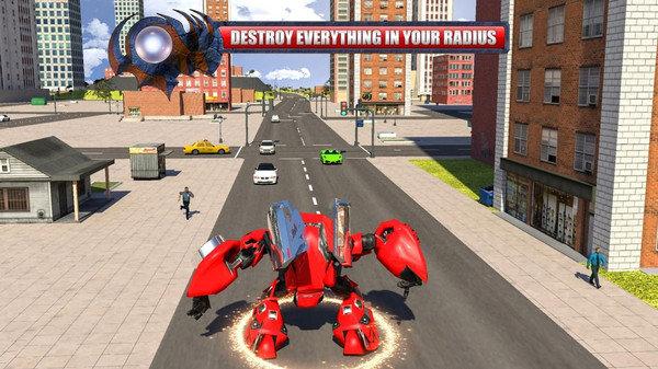 飞天螳螂机器人