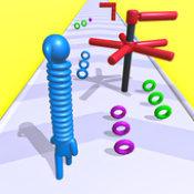 长颈堆叠跑酷3D