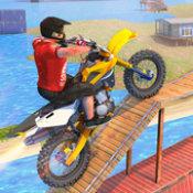 无畏特技摩托车手