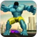 怪物超级英雄市战斗