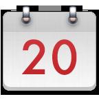 2021年日历全年表