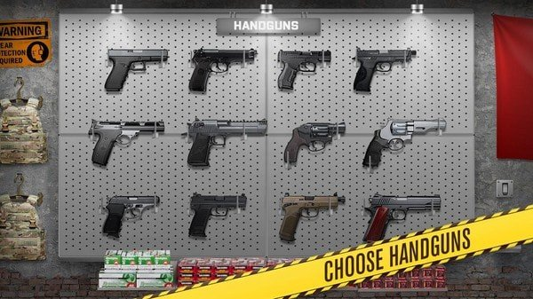 枪支武器模拟
