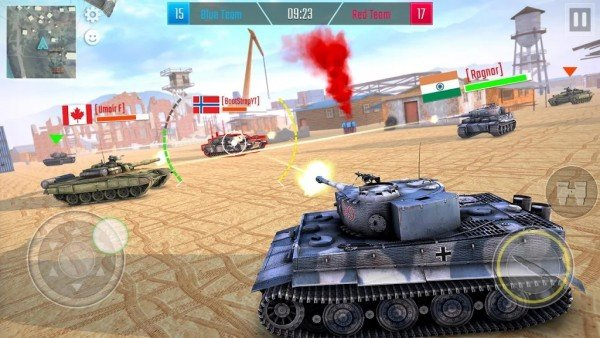 可怕??的坦克战争