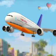 新型飞机模拟