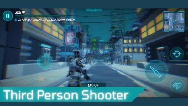 机器人射击英雄