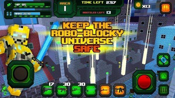 像素机器人大乱斗